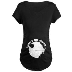 that's no moon maternity shirt | That's No Moon - Maternity - Dark T-Shirt