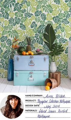 Aimee Wilder's Bungalow Wallpaper Collection - Design*Sponge
