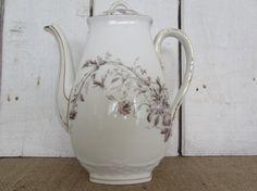 Rare C.V & Cie Limoges Depose Teapot C.V. Cie Limoges Depose