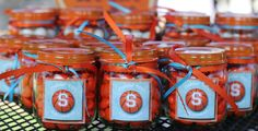 Basketball Party Centerpieces | Our little thank you's.