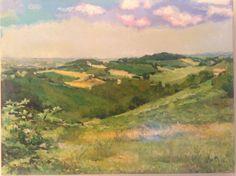 colline Albinetane (re) olio su tela, cm 80x60 euro 250 carlodotti22@gmail.com