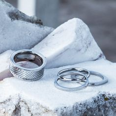 These Vitaly rings are essential in every man's wardrobe!