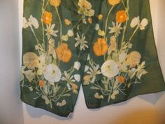 Vera-Neumann-green-vinal-silk-floral-scarf