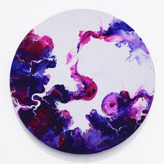 Any of Jasper Hill's circular canvas paintings... Specifically one with white in them!