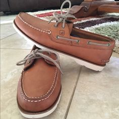 Sperry Top-Sider **BRAND NEW** tan sperry top-spider, MEN size 10 & never worn. Sperry Top-Sider Shoes Flats & Loafers