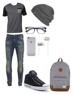 """""""My little mikey"""" by nmcneil-nm ❤ liked on Polyvore featuring Billabong, Scotch & Soda, Converse, Herschel Supply Co., Outdoor Research, Native Union, Beats by Dr. Dre, men's fashion and menswear"""
