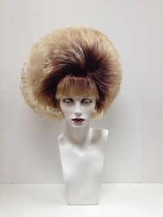 Custom Design Wigs I - Outfitters Wig Drag Wigs, 60s Hair, Costume Wigs, Costumes, Bouffant Hair, Everyday Look, Wig Hairstyles, Custom Design, Hair Beauty