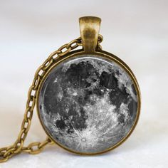 Full Moon Necklace Full Moon Jewelry