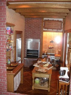 Bakery Shop- The Kitchen Area Close Up by Diogioscuro, via Flickr