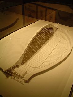 Model of David S. Ingalls Hockey Rink