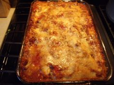 Mother's day lasagna!!  YUMMO!!  :D