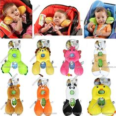 $18 Baby neck and head support pillows. These would be easy to make.