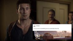 Uncharted Text Post - This action will have consequences