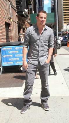 10 Celeb guys in denim I could stand to see more of.  Channing Tatum  in AG
