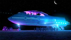Giant Boeing 747 Is Converted Into the Largest Art Car to Ever Land at Burning Man