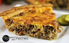 This cheeseburger pie combines favorite flavors like hamburger and bacon into one delicious casserole that everyone will enjoy!