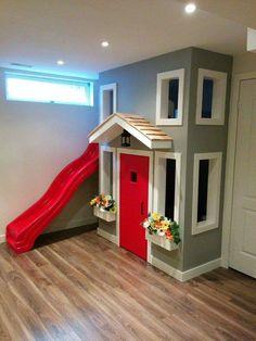 Indoor Playhouse                                                                                                                                                      More #indoorplayhousediy #indoorplayhouseeasy