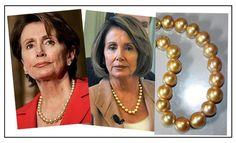 Powerful women loves pearls and a perfect example of this is Speaker of the House, Nancy Pelosi. She has become an object of fascination and curiosity in and outside of political circles for her bold pearl strands and elegant Armani. Beauty Around The World, Signature Look, Duchess Of Cambridge, Powerful Women, Coco Chanel, Fascinator, Spotlight, Classic Style, Bling