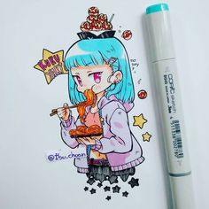 #Chibi #Kawaii #Copic