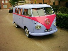 i need to get this and put peace signs and daisies everywhere...or maybe re create the car from scooby doo.