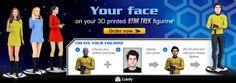 Your face on a Star Trek Figurine!