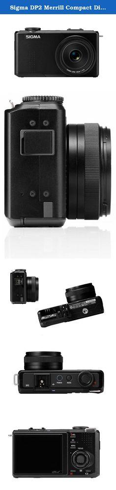 Sigma DP2 Merrill Compact Digital Camera. 46 Megapixel large image censor.