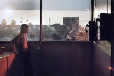 Philip-Lorca diCorcia, 'Mike Miller, 24 years, Allentown, PA', 1990-92- again could take inspiration from retro feel and apply innovative twist