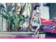 Americana by Craig McDean for W February 2012