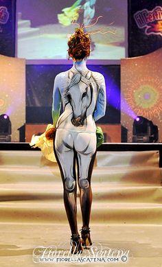 White Horse | Festival del Garda Performance Body Painting b… | Flickr