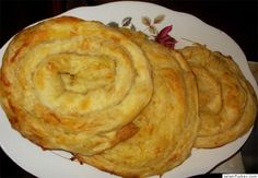 skopelitiki - cheese pie from Skopelos Island, Greece Greek Recipes, Desert Recipes, Greek Meze, Cheese Pies, Bread And Pastries, International Recipes, Breads, Bakery, Deserts