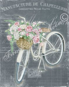 New vintage bike art free printables 27 ideas Images Vintage, French Vintage, Vintage Art, Cycling Art, Cycling Quotes, Cycling Jerseys, Deco Floral, Decoupage Vintage, Vintage Bicycles