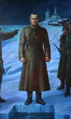Execution of Admiral Kolchak Military Diorama, Military Art, Military History, Russian Revolution 1917, February Revolution, Imperial Russia, Historical Art, Soviet Union, Geek