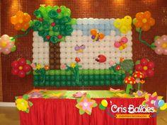 painel de baloes para festa infantil - Pesquisa Google