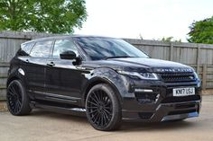 Land Rover Range Rover Evoque 2.0 TD4 SE Tech 5dr Auto 4WD **GENUINE HAMANN CONVERSION ** NEW CAR ** Estate Diesel Metallic Santorini Black
