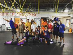 Did my #Halloween workout with the @irontribenola crew! #NOLA #IronTribe #superman by jimcavale