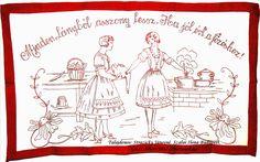 Minden lányból... - Magyar falvédő ¤ Hungarian embroidered wall carpet