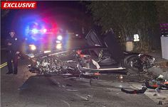 EXCLUSIVE: Chris Brown's Exotic Lamborghini TOTALED In LA Crash! Driver Fled The Scene! Was It Breezy Driving [PICTURES / VIDEO]? - http://www.ratchetqueens.com/exotic-chris-brown-lamborghini-crashed-driver-fled-scene-pictures.html