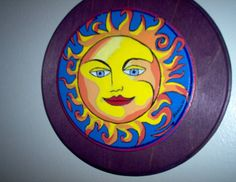 #Sun #Acrylic on wood #Sketch #Drawing #Painting