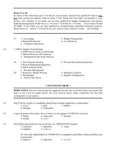 Philippines civil-service-professional-reviewer-120728101340-phpapp01 Civil Service Reviewer, Kinds Of Story, Questionnaire, Exam Review, Types Of Work, Final Exams, Civilization, Vocabulary, Philippines