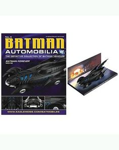 DC BATMAN AUTOMOBILIA FIGURINE COLLECTION MAGAZINE 4 BATMAN FOREVER MOVIE BATMOBILE -- Check out this great product. (This is an affiliate link) #DCComics