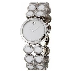 Movado Women's 'Ono Moda' Stainless Steel And Ceramic Quartz Watch - Ladies Stylish Watches... http://ladiesstylish.com/watches.html #LadiesStylish #Designer #Watches