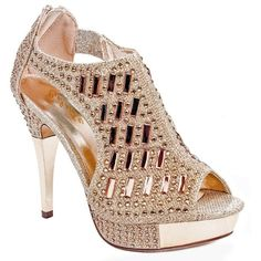 663e47e8a4d41 Women Glitter Crystal Rhinestone Peep Toe Platform High Heel Evening...  ( 30)