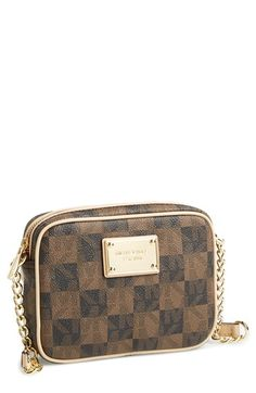 MICHAEL Michael Kors 'Small Jet Set Signature' Crossbody available at #Nordstrom