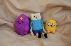 Adventure Time Felties