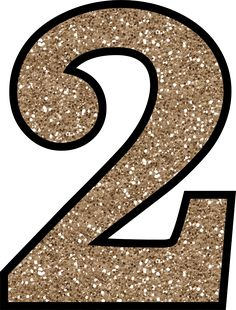 This set of free printable letters 0 - 9 have a glitter pattern and will add some glittery shine to your next craft or handmade card making project.: Glitter Number 2 To Print Free Printable Numbers, Printable Letters, Free Printables, Glitter Letters, Gold Glitter, Glitter Bomb, Handmade Card Making, Birthday Crafts, Cake Birthday
