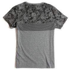 T-shirt Estampada Cinza Mescla - Taco