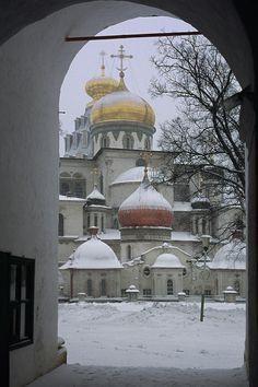 New Jerusalem Monastery. Town of Istra (Moscow Oblast, Russia) Новый Иерусалим