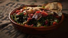Recettes - Signé M - TVA - Inspiration salade fattouche et fromage grillé