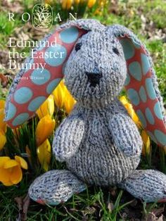 Edmund The Easter Bunny - a free knitting pattern from Rowan - soooo cute