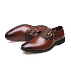 21de7d6f4b0 Shoes - Men s Business Fashion Oxford Dress Party Shoes – Kaaum Dress Shoes